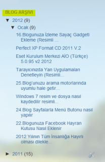 Blog arşivi