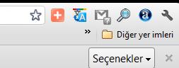 Chrome uzantılar ve sayfa iconları