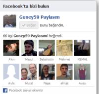 Facebook hayran kutusu