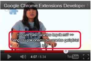 YouTube Türkçe dil çeviri butonu nasıl kullanılır