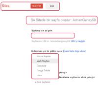 Google Sites sayfa özellikleri nelerdir