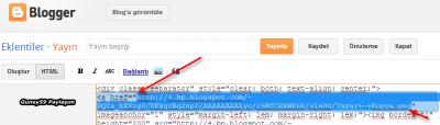 Blog HTML Kodu