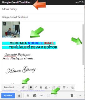 Google Gmail Yenilikleri