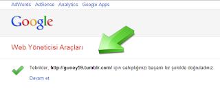 4.Tumblr Blogun doğrulanmış görseli