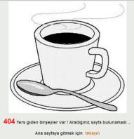 404 Sayfa bulunamadı