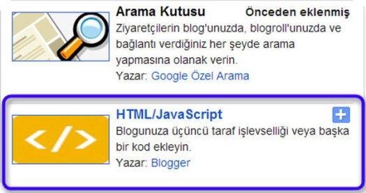 blogger-javascript-gadgeti